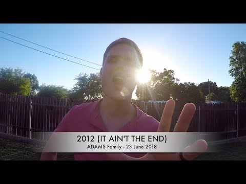 2012 It Ain't The End (Jay Sean) - Adams Family Lipdub 2018