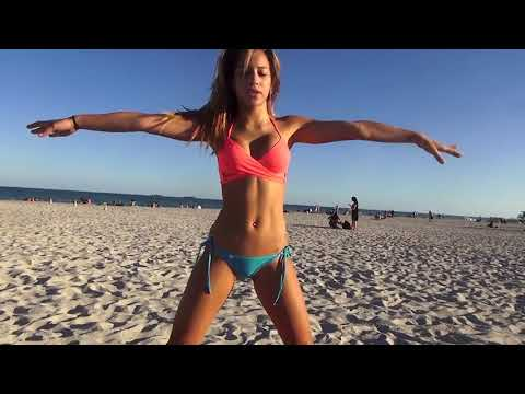 Hot Bikini Beach Yoga! Part 2