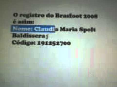 REGISTRADO GRATIS 2008 BAIXAR BRASFOOT