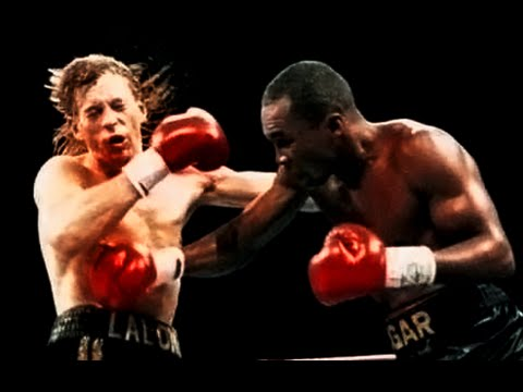 Sugar Ray Leonard vs Donny Lalonde (Highlights)