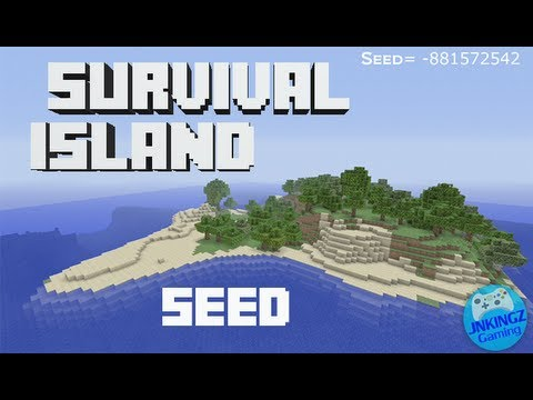 Minecraft Xbox 360 edition: Survival island seed - YouTube