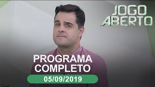 Jogo Aberto - 05/09/2019 - Programa completo