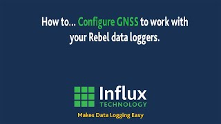 DiaLog |Configuring Rebel Data Logger to record GNSS data.