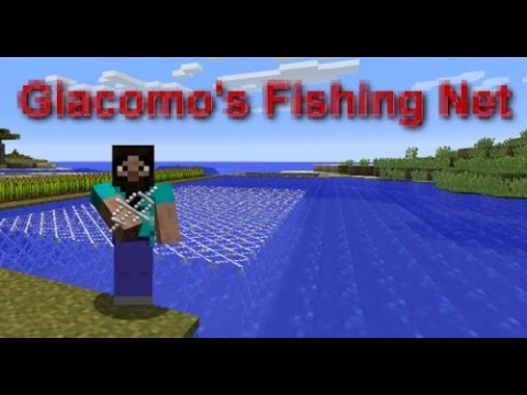 Giacomo's Fishing Net | Мод рыболовная сеть в майнкрафт