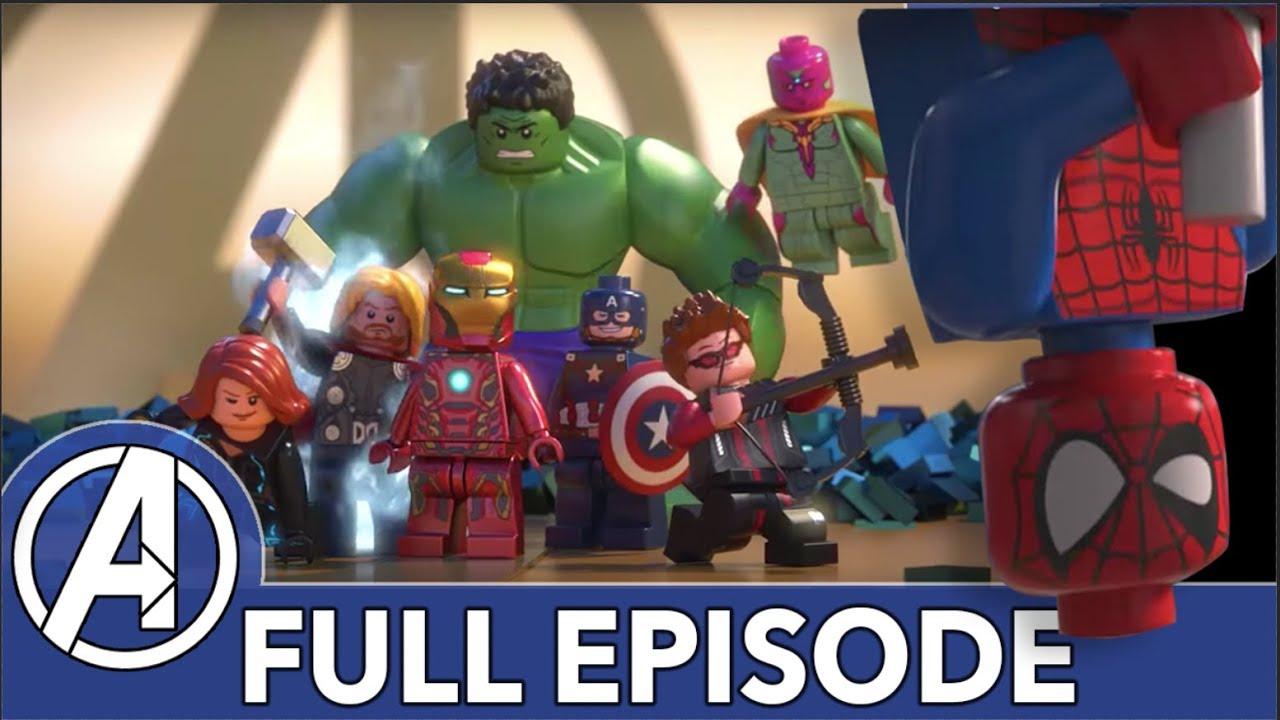 Lego Avengers Take On Ultron Marvel Lego Avengers Reassembled Full Episode Youtube
