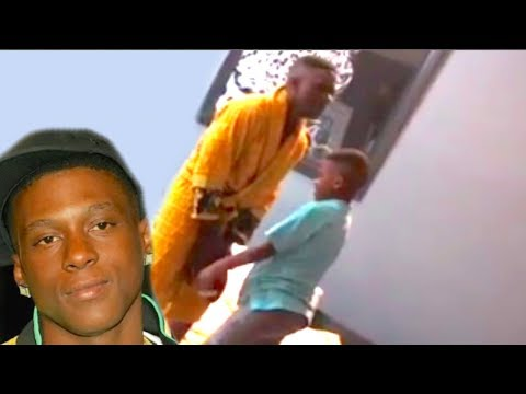 Lil Boosie Plays Ball in BED with Sons