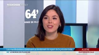 Algérie - Les manifestations continuent au lendemain du report de la présidentielle