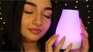ASMR Putting You To Sleep | Light Triggers, Tapping, Trigger Words, Tongue Clicking