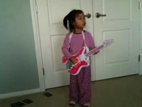 My little rockstar