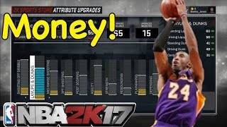 nba 2k17   myplayer creation   best shooting guard shot creator build