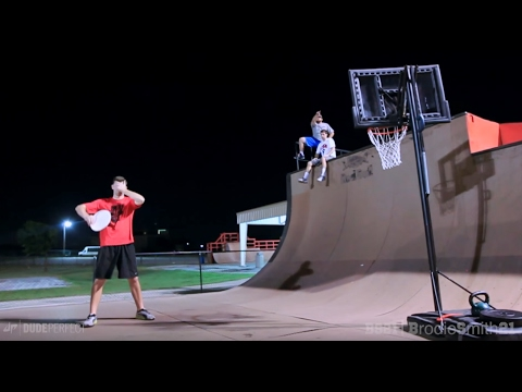 Thumbnail: Epic Trick Shot Battle 2 | Dude Perfect vs. Brodie Smith