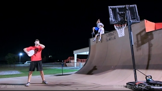 One of Brodie Smith's most viewed videos: Epic Trick Shot Battle 2 | Dude Perfect vs. Brodie Smith