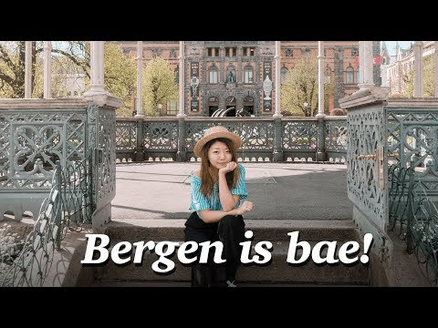 WE FELL IN LOVE WITH BERGEN, NORWAY! Norwegian City Tour 2017