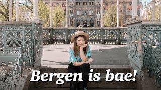 WE FELL IN LOVE WITH BERGEN, NORWAY! Norwegian City Tour 2017