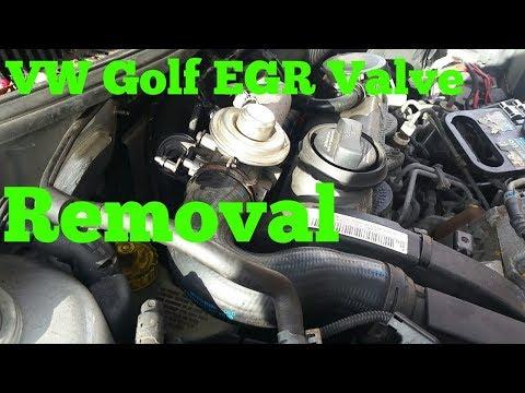 How To Remove VW Golf Mk4 EGR Valve
