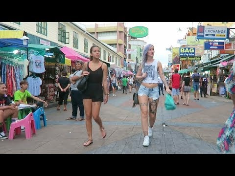 Day & Night at Khaosan Road - Vlog 198
