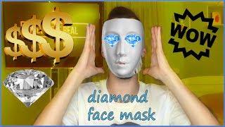 ΜΑΣΚΑ ΠΡΟΣΩΠΟΥ ΜΕ ΔΙΑΜΑΝΤΙΑ ?ΟΡΙΣΤΕ?(diamond face mask)l Tsede The Real