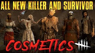 ALL NEW KILLER & SURVIVOR COSMETICS [Dead by Daylight Costume Store]