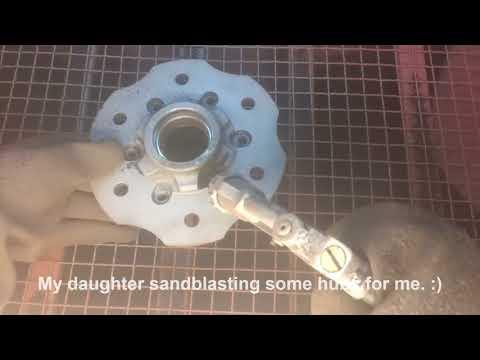 Sand Blasting Hubs