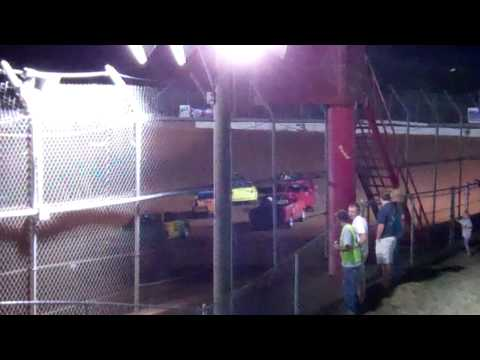 May 19th Screven Motor Speedway Renegade 4 heat race.
