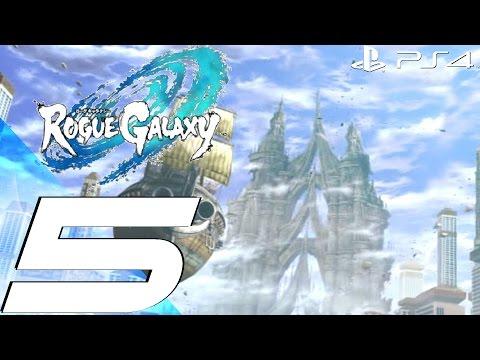 Rogue Galaxy PS4 - Gameplay Walkthrough Part 5 - Star God Boss [1080p 60fps]