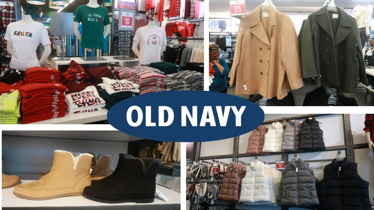 Old Navy Winter 2020 Browse With Me Youtube
