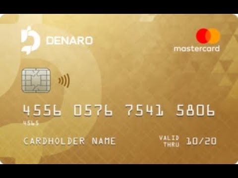 DENARO Offers CRYPTOCURRENCY WALLET AND WORLDWIDE DEBIT CARDS & IBAN FIAT