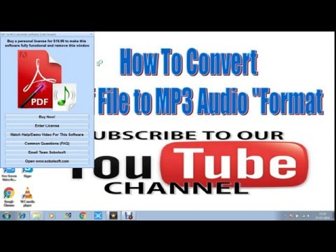 "How To Convert ""Pdf to Mp3 Audio"" Format. Very Fast"