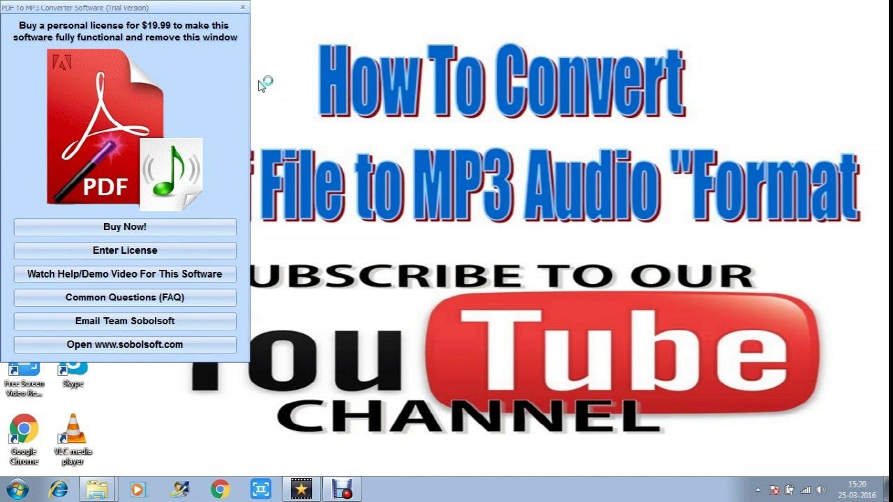 How To Convert Pdf Mp3 Audio Format Very Fast
