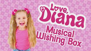 Love Diana Musical Wishing Box