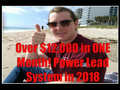 $12,951.57 in ONE Month! Best Online Business 2018 - Power Lead System Training & Review