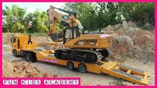 Bruder Toys - Excavator Videos for Children - Trucks for Kids