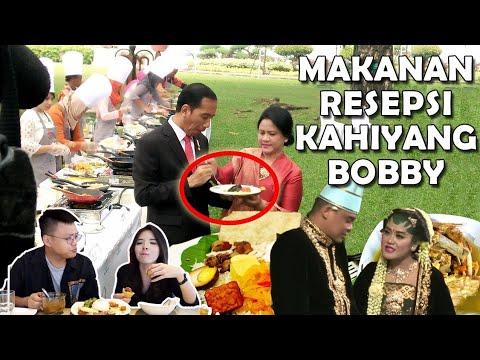 Menu Di Pernikahan Kahiyang & Bobby Mewah ?! Cobain Disini !!