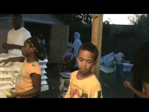 NASFAT HOUSTON BRANCH IN PREPARATION FOR THE 'NIGHT OF GLORY' 2009 VIDEO 4