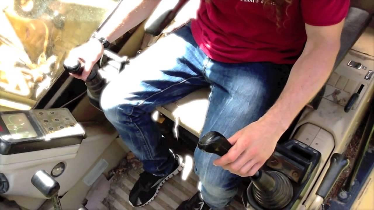 Scoop Excavator Game Sae Excavator Controls Explained Youtube