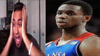 fan reaction to andrew wiggins number 1 pick nba 2014 draft