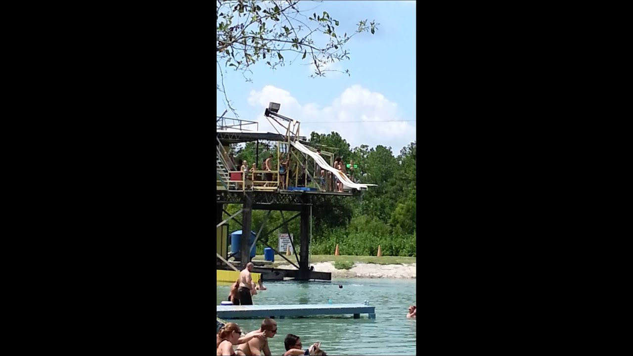 vernette at cecil 39 s backyard waterpark youtube