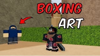 How to Get Boxing Art in Shinobi Origin (MMO)! l Roblox