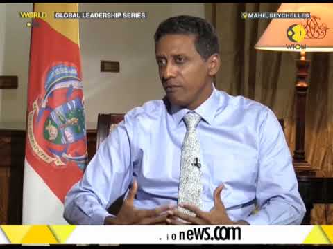 Exclusive interview with Seychelles President
