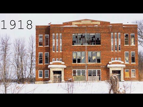 Abandoned 1918 School House