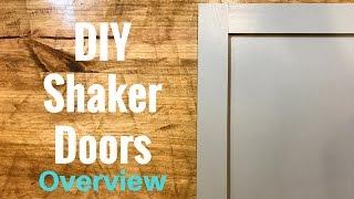 DIY Shaker Cabinet Doors - Part 1 Overview