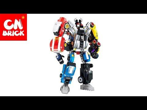 video lego robot mobil