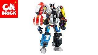 LEGO ROBOT TRANSFORMER 6 IN 1 ENLIGHTEN 1409