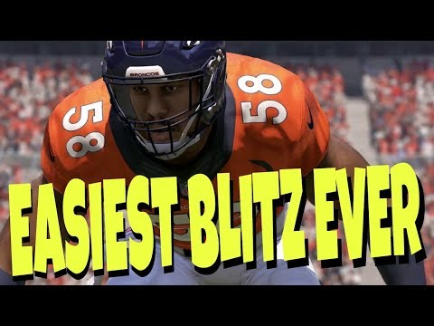 FASTEST & EASIEST BLITZ SETUP IN MADDEN 18! 1 STEP INSTANT HEAT! BEST PASS DEFENSE TIPS  BENGALS