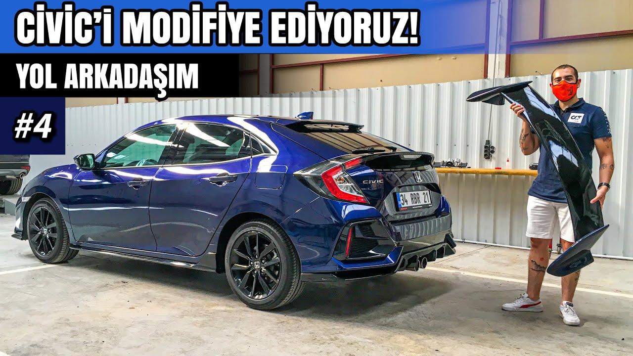 Honda Civic Fc5 Typer Body kit Yapım aşaması ! Bir Günde Neler Yapabiliyoruz ?