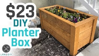 Get your free 7 day trial to Audioblocks! http://audioblocks.com/Nilsandkatrina_0617 Learn how to build a great looking Planter ...
