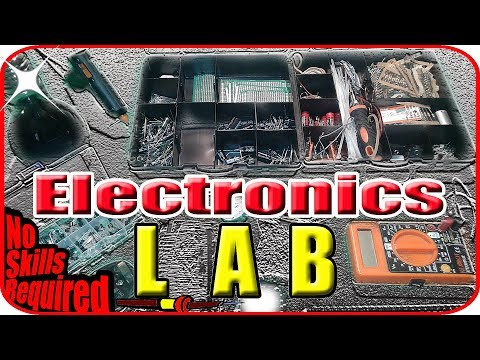 Electronics For Beginners - Electronics Lab Equipment On A Budget
