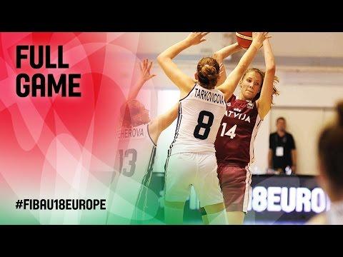 Slovak Republic v Latvia - Full Game - FIBA U18 Women's European Championship 2016