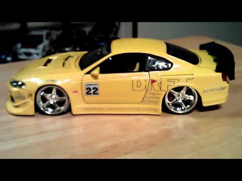 Jada Toys Import Racer Option D Diecast Model Nissan