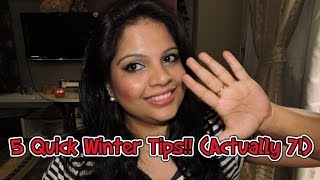 Quick Winter Tips: Skin, Hair & Makeup!! Thumbnail